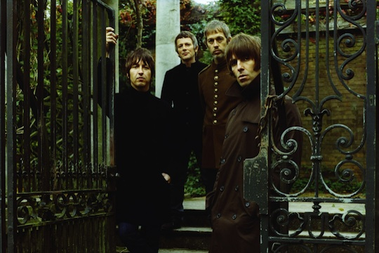 Beady Eye cover 'Blue Moon' to launch new Man City kit
